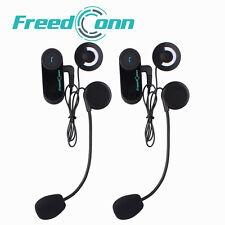 FDC BT 800M Motorcycle Helmet Bluetooth Motorbike Headset Intercom Interphone+FM
