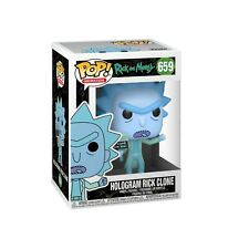 Funko Pop ! Rick & Morty : Hologram Rick Clone