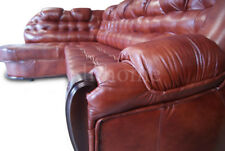 Corner Sofabed +Storage, Real Leather,left or right hand side, can be customised