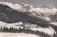 R250357 Montana s. Sierre. Le Palace en hiver. Jullien freres. 7421