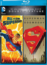 DCU Double Feature:All Star Superman/Superman Doomsday (Blu-ray) NEW