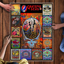 1000 Piece Wooden Puzzle Grateful Dead Large Puzzle Game Toy Gift