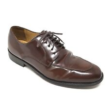 Men's Cole Haan C07604 Oxfords Dress Shoes Size 8M Brown Leather Split Toe O5