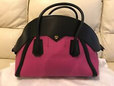 MCM MARION TWO TONE BOWLER HAND BAG PINK BRAND NEW