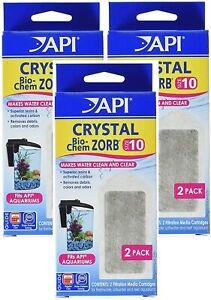 API (3 Pack) Crystal Bio-Chem Zorb, Size 10, 2 Filter Each