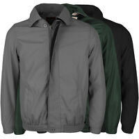 Men's Golf Sport Zip Up Windbreaker Microfiber Water Resistant Jacket BENNY