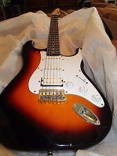 Crate Electra Electric Guitar HSS  Stratocster  / Sunburst finish Great shape