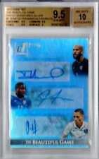 2015 Donruss The Beautiful Game Triple Auto Dempsey Howard Altidore /25 BGS 9.5