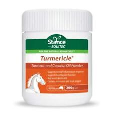 STANCE EQUITEC TURMERICLE POWDER 200gr Tumeric & Coconut Oil powder