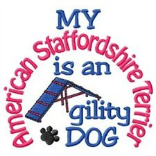 My American Staffordshire Terrier is An Agility Dog Sweatshirt - Dc1934L