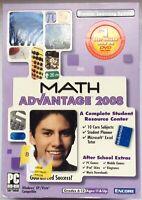 Math Advantage 2008 - DVD WIndows XP / Vista - Grades 6 - 12 - 10 Core Subjects