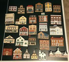 Cats Meow Village Collection Lot (28 pieces)