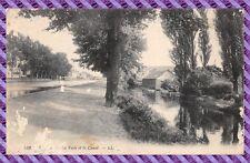 Tarjeta Postal - REINS - La vesle y el canal
