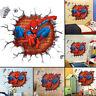 Super Hero Spider-Man Wall Sticker Decals Kids Baby Nursery Room Vinyl Decor DIY