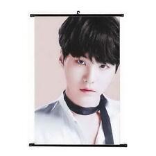 Kpop BTS Bangtan Boys Suga Hanging Painting Art Painting Wall Scroll Poster