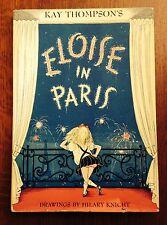 """Eloise in Paris"" by Kay Thompson- 1957- Third Printing- w/Jacket"