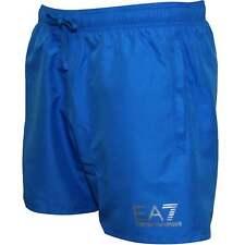 Emporio Armani EA7 Sea World Swim Shorts in Turquoise Medium