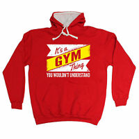 ITS A GYM THING HOODIE hoody bodybuilding training funny birthday gift 123t