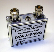 LNA 137 MHz - Vorverstärker für NOAA & Meteor Weißblechgehäuse (5045)