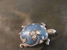 Fabulous Vintage Catherine Popesco Enamel Turtle Brooch