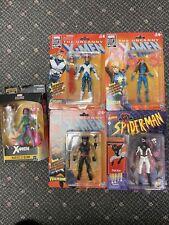 Marvel legends lot x-men, Retro Spider-Man Negative Wolverine Cyclops Dazzler