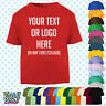 Custom Personalised Baby/Kids/Childrens T-SHIRT Name Funny Gift-Your text/logo 2