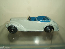 VINTAGE DINKY TOYS  MODEL No.38e ARMSTRONG SIDDELEY COUPE