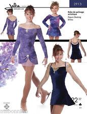 Jalie Off the Shoulder Figure Skating Dress Sewing Pattern # 2913 Misses & Girls