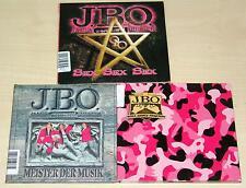 3 CD SAMMLUNG JBO - MEISTER DER MUSIK - SEX - ROSA ARMEE FRAKTION | J.B.O.