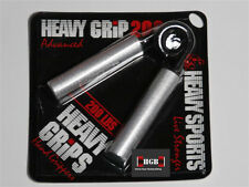 Heavy Grips Hand Grippers HG200 Advanced + Finger Bands Get Crushing Grip NEW