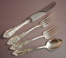 King Richard-Towle Sterling 4-PC Dinner Place Setting-French