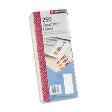 Smead Smartstrip Refill Label Kit, 250 Label Forms/Pack, Inkjet, PK - SMD66006