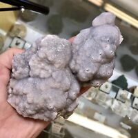 Smithsonite Botryoidal Purple Crystal Cluster - Choix, State of Sinaloa, Mexico