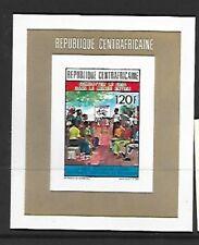 CENTRAL AFRICAN REPUBLIC Sc 984 NH SOUVENIR SHEET OF 1991 - UN EDUCATION