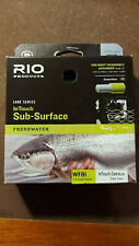 RIO FLY FISHING LINE ~ SUB SURFACE ~WF8 I ~ IN TOUCH CAMOLUX CLEAR