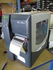 Zebra Z4M Plus Z4M00-200E-5000 Direct Thermal Transfer Label REWINDER Printer