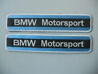 PATCH BMW MOTORSPORT RICAMATA TERMOADESIVA CM 15X3 - PZ.2 - COD.368
