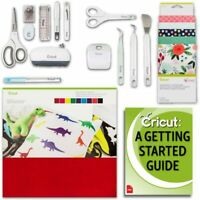 Cricut Patterned Fabric & Felt Set, Essential Sewing Kit, Pen, Basic Tool Kit