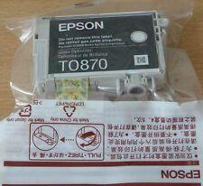 GENUINE EPSON T0870 TO870 Gloss Optimizer cartridge ORIGINAL R1900 INK