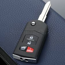 For Mazda 3 5 6 RX-8 CX-7 CX-9 Miata 3+Panic 4 Buttons Remote Key Fob Case Shell