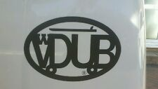 VW Vdub caravanas Surf Vinilo Sticker Negro O Blanco