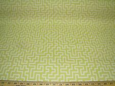 ~12 6/8 YDS~MODERN GEOMETRIC RETRO~WOVEN UPHOLSTERY FABRIC~FABRIC FOR LESS~
