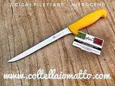 coltello chef  per filettare  2 cigni - acciaio NITRIUM - lama  flessibile