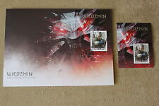 The Witcher 3: Wild Hunt - Stamp + Envelope Polish Exclusive + additional Stamp