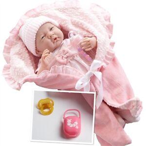"""La Newborn 15.5"""" Deluxe Layette Gift Set - Soft Body Doll"""