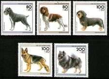 Germany 1995 Dogs set of 5 Mint Unhinged