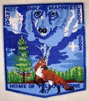 SHUNKAH MAHNEETU OA LODGE 407 GRAND TETON ID YELLOWSTONE FOX 2002 NOAC DELEGATE