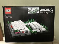 Rare LEGO 2016 JIAXING Factory Opening Set 4000023~~~Not for Sale