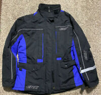 CKX RACING HEAVY SNOWMOBILE BLUE JACKET WINTER COAT WOMEN'S SIZE XL EXTRA LARGE
