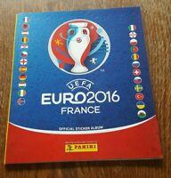 Panini EM 2016 Leeralbum Album Uefa Euro 16